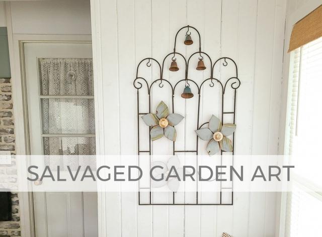 Salvaged Garden Art by Larissa of Prodigal Pieces | prodigalpieces.com #prodigalpieces