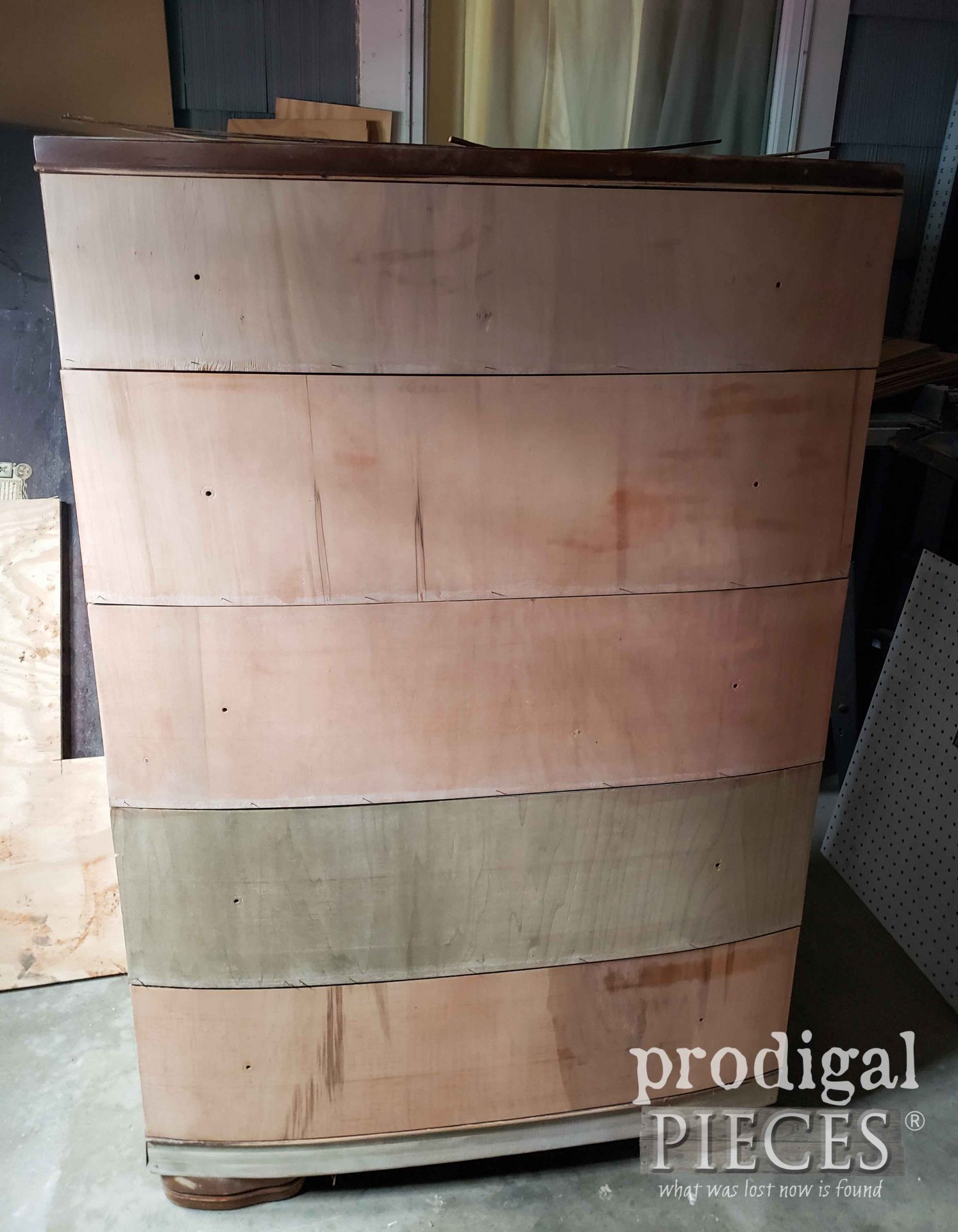 Sanded Art Deco Chest of Drawers | prodigalpieces.com