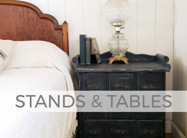 Stands and Tables by Larissa of Prodigal Pieces | prodigalpieces.com