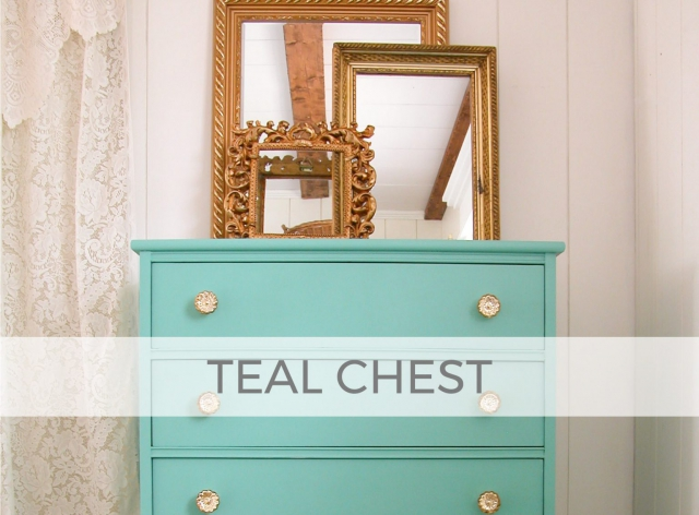 Vintage Chest gets Modern Vibe by Larissa of Prodigal Pieces | prodigalpieces.com #prodigalpieces