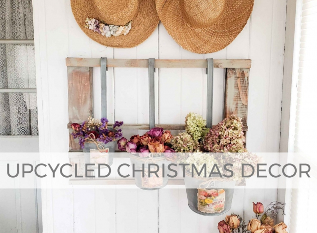 Upcycled Christmas Decor by Larissa of Prodigal Pieces | prodigalpieces.com #prodigalpieces