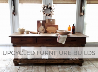 Upcycled Furniture Builds by Larissa of Prodigal Pieces | prodigalpieces.com