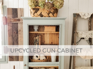 Upcycled Gun Cabinet by Larissa of Prodigal Pieces | prodigalpieces.com #prodigalpieces
