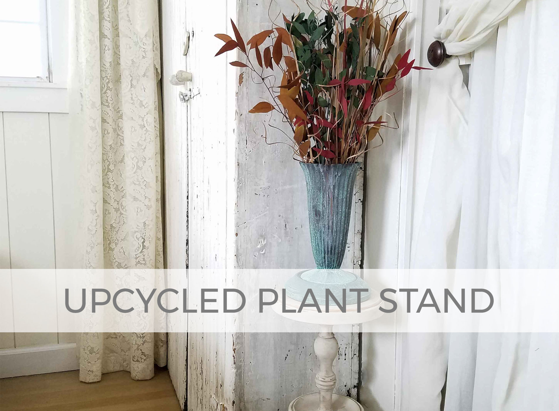 Upcycled Cigarette Stand into Plant Stand by Prodigal Pieces | prodigalpieces.com