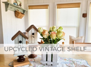 Upcycled Vintage Shelf into 4 Home Decor Projects by Larissa of Prodigal Pieces   prodigalpieces.com #prodigalpieces