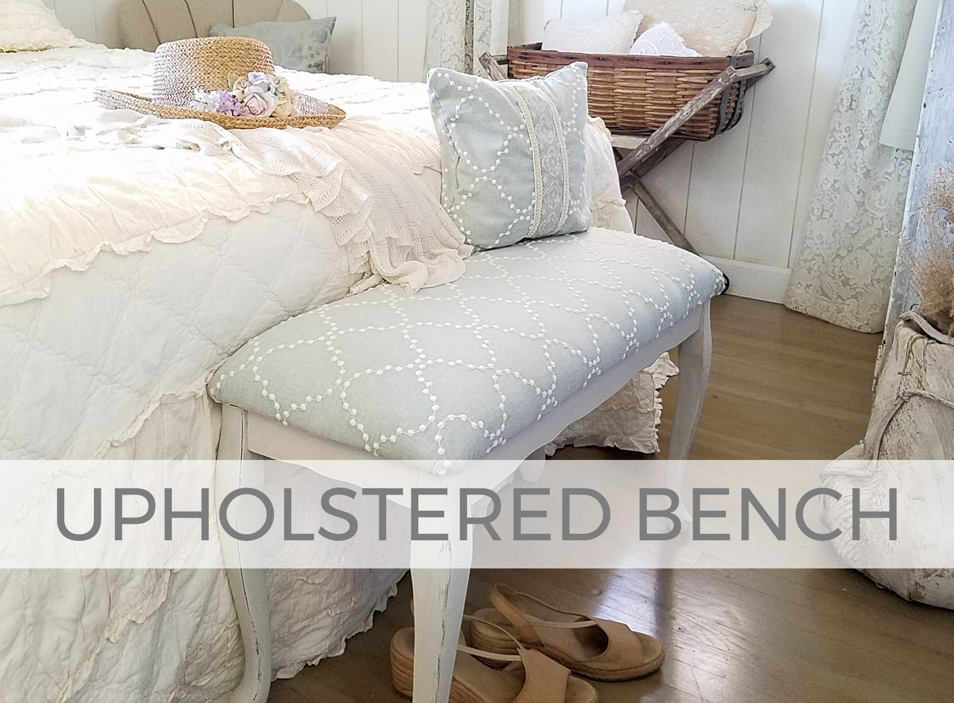 Upholstered Bench by Larissa of Prodigal Pieces | prodigalpieces.com #prodigalpieces