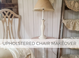 Upholstered Chair Makeover by Larissa of Prodigal Pieces | prodigalpieces.com #prodigalpieces