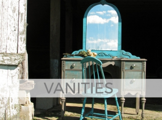 Vanities and Dressing Tables by Larissa of Prodigal Pieces | prodigalpieces.com