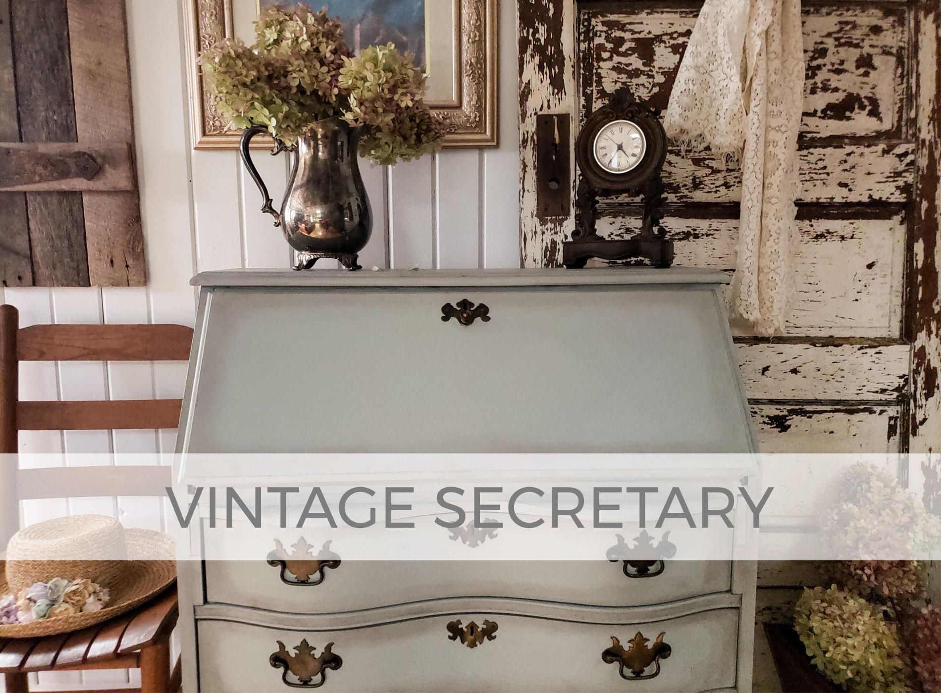 Vintage Secretary Desk by Larissa of Prodigal Pieces | prodigalpieces.com