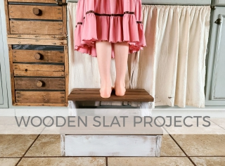Wooden Slat Projects Made from Scrap Wood by Larissa of Prodigal Pieces | prodigalpieces.com #prodigalpieces