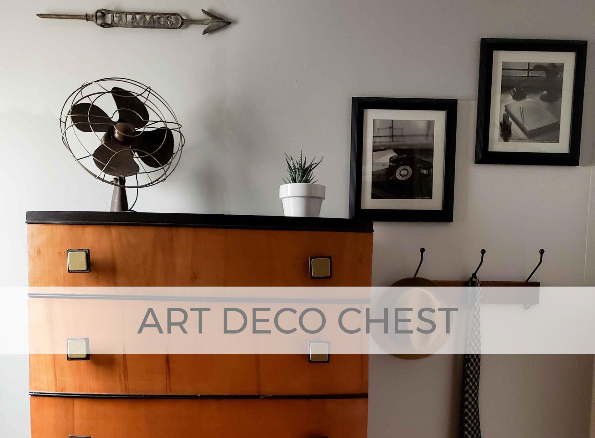 Art Deco Chest of Drawers | prodigalpieces.com #prodigalpieces