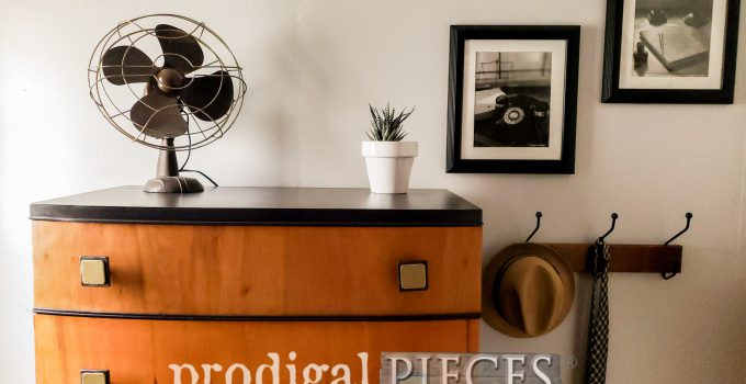 Art Deco Chest of Drawers found Curbside