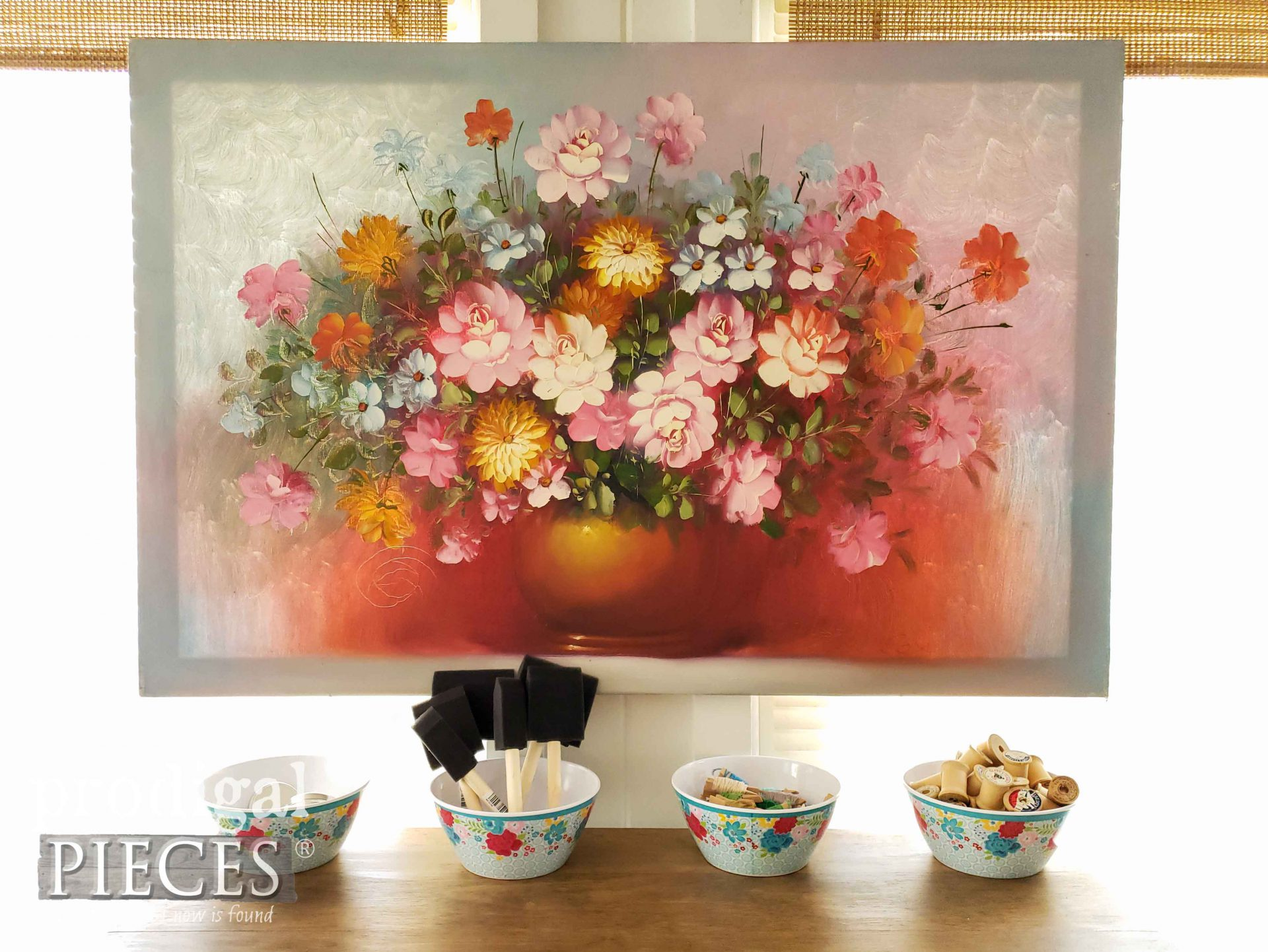 Floral Oil Painting | prodigalpieces.com