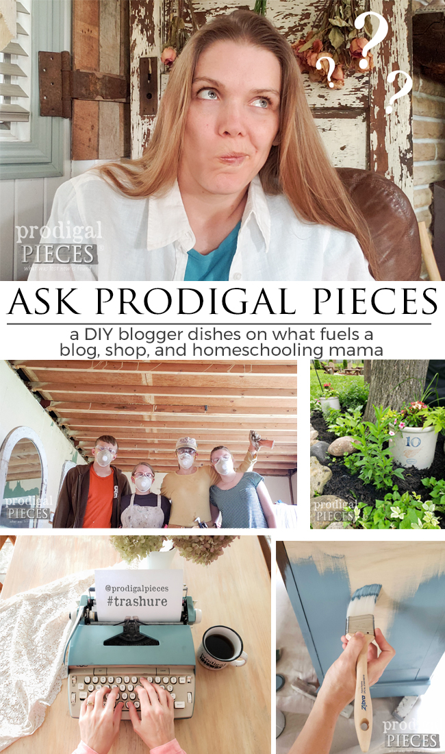 A joy-filled, real interview with a blogging, DIY, homeschooling mama to 6 | Come be a part of the family at prodigalpieces.com #prodigalpieces #diy #blogging #blogger #interview #homeschooling