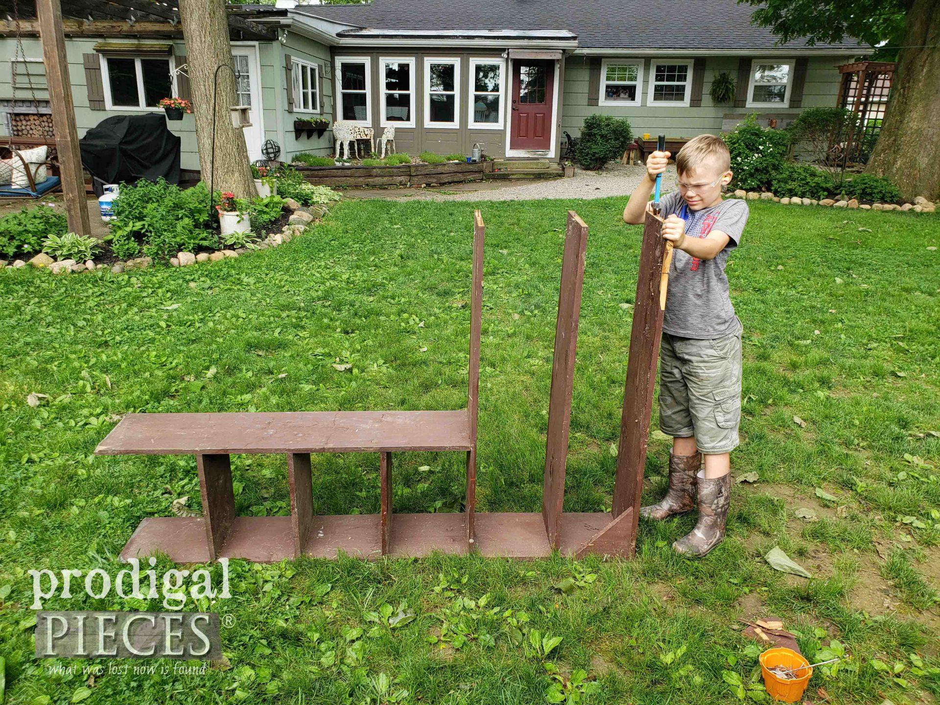 Dismantling Garden Shelf | prodigalpieces.com