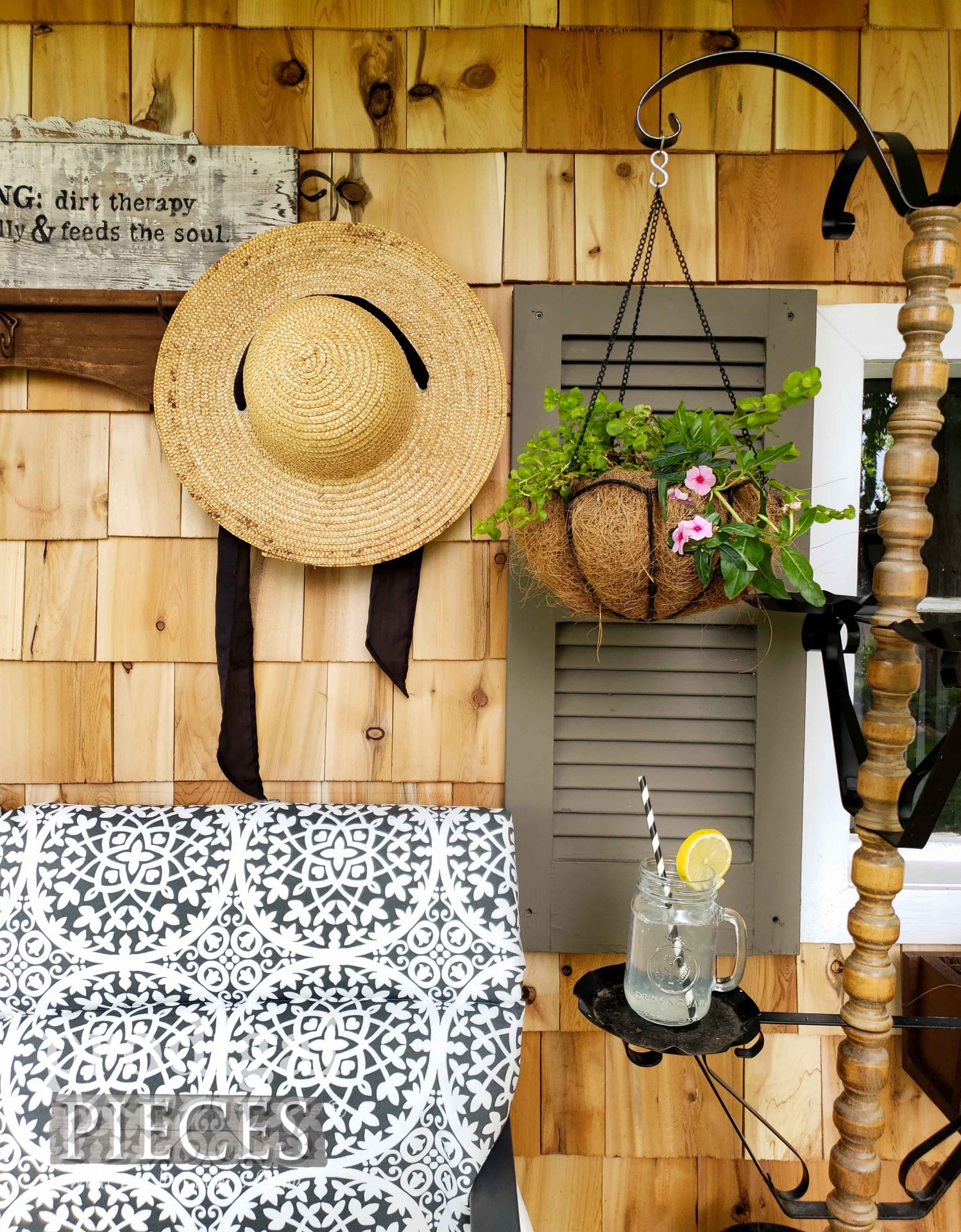 Farmhouse Style Garden Shed by Prodigal Pieces | prodigalpieces.com #prodigalpieces