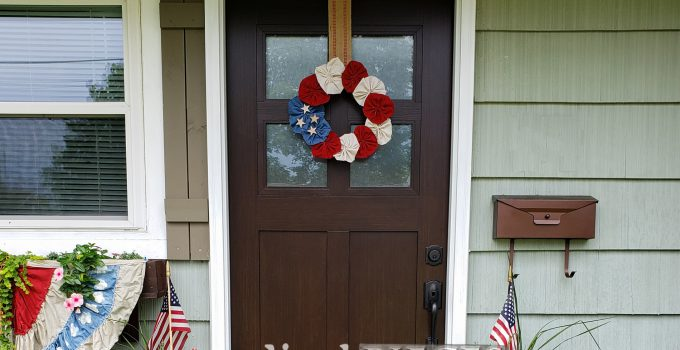 4th of July Wreath ~ Independence Day