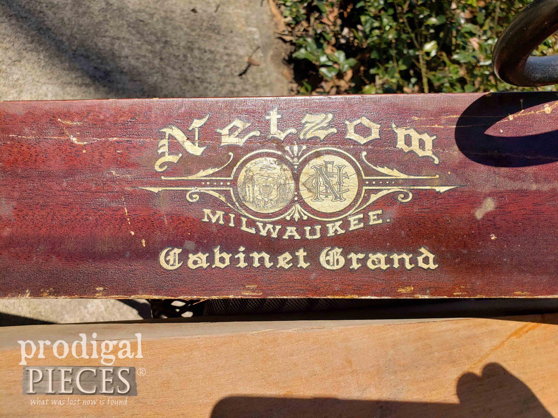 Nelson Cabinet Grand Upright Piano   prodigalpieces.com
