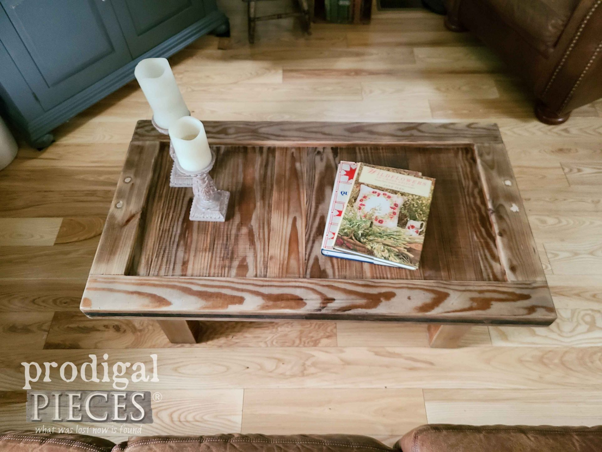 Upcycled Coffee Table Top by Prodigal Pieces | prodigalpieces.com #prodigalpieces #furniture #home #homedecor