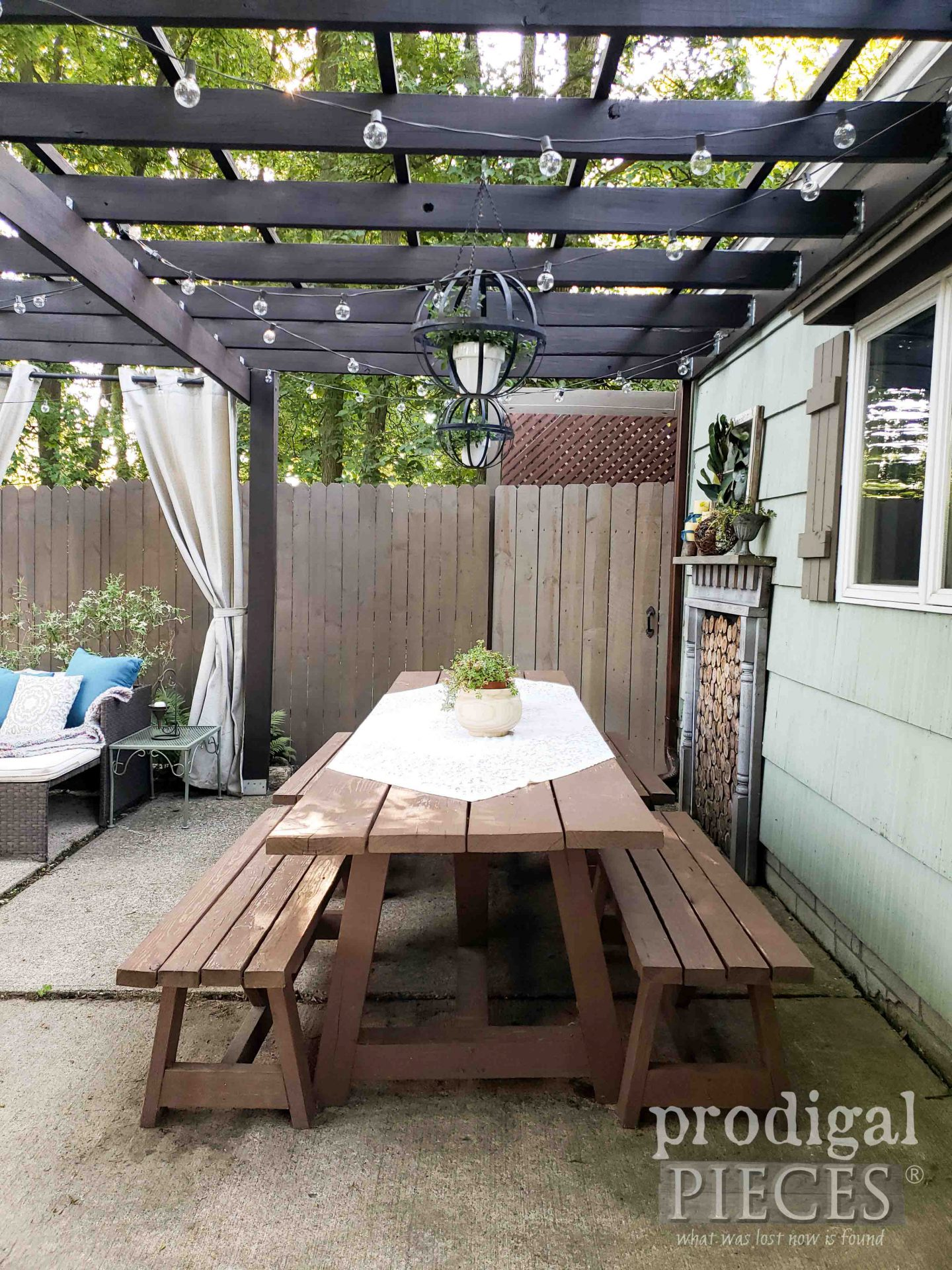 Handmade Patio Decor by Prodigal Pieces | prodigalpieces.com #prodigalpieces