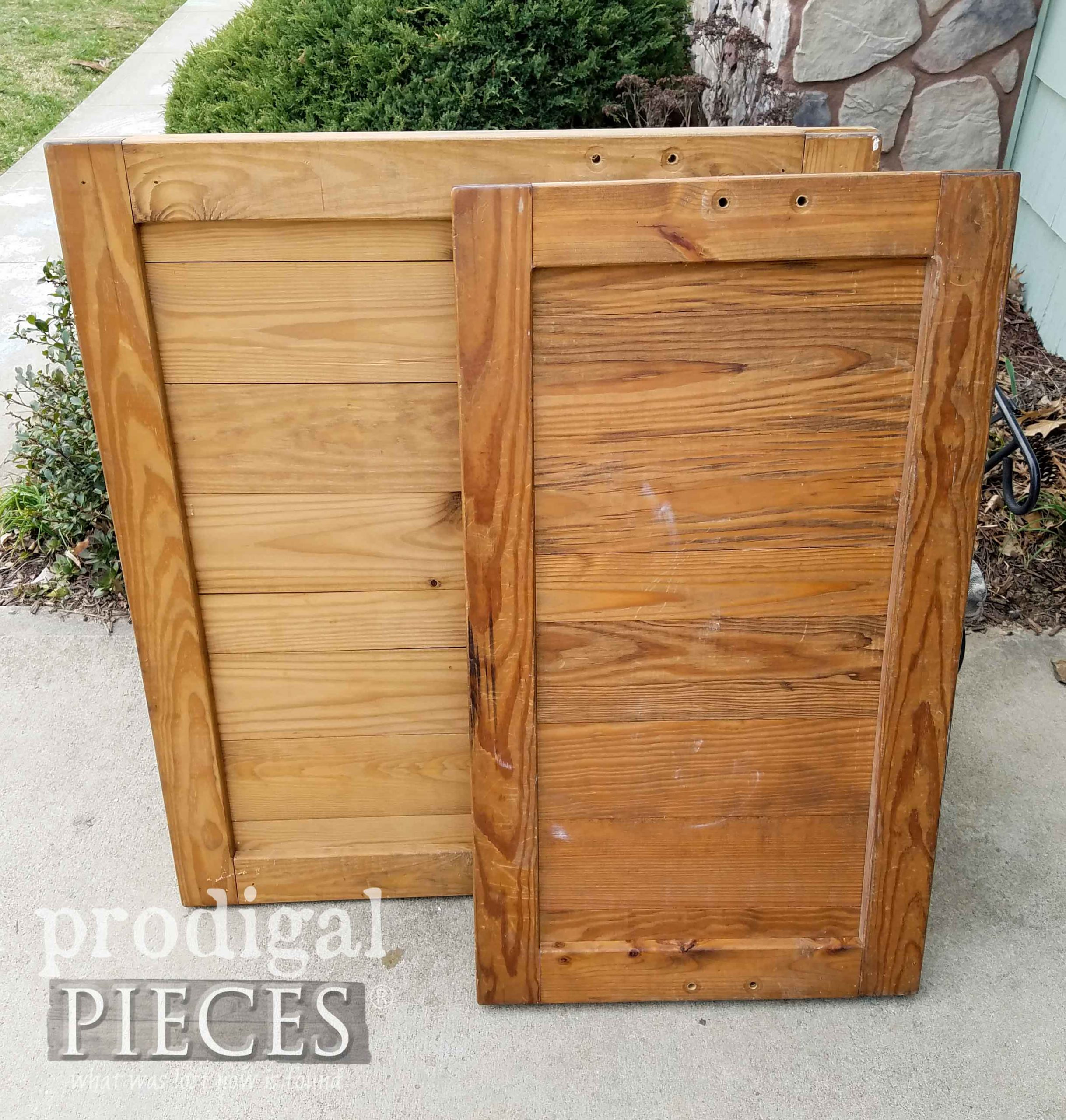 Reclaimed Wood Before Upcycle by Prodigal Pieces   prodigalpieces.com #prodigalpieces