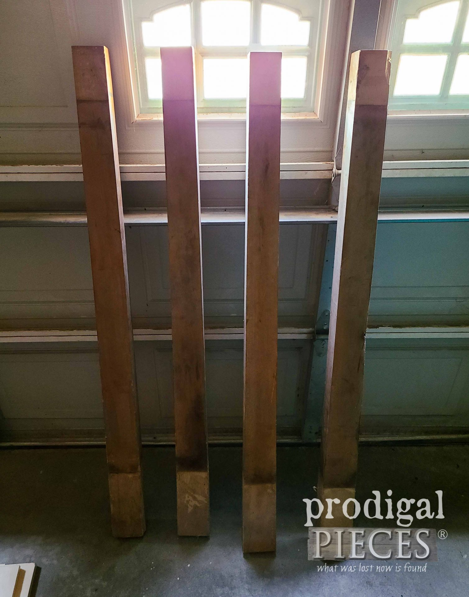 Upright Piano Parts for Reclaimed Coffee Table   prodigalpieces.com #prodigalpieces