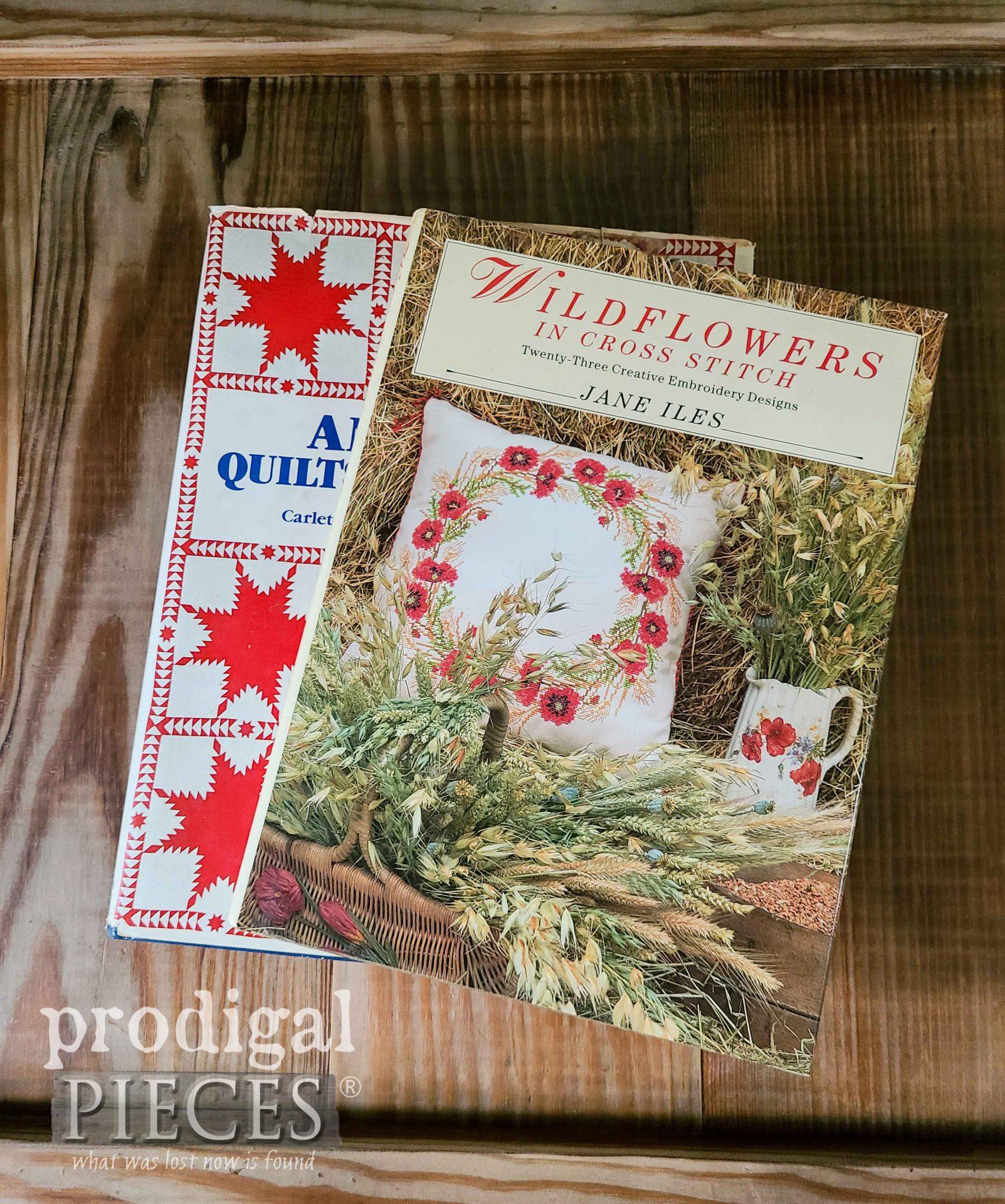 Vintage Textile Books | Prodigal Pieces | prodigalpieces.com #prodigalpieces #books