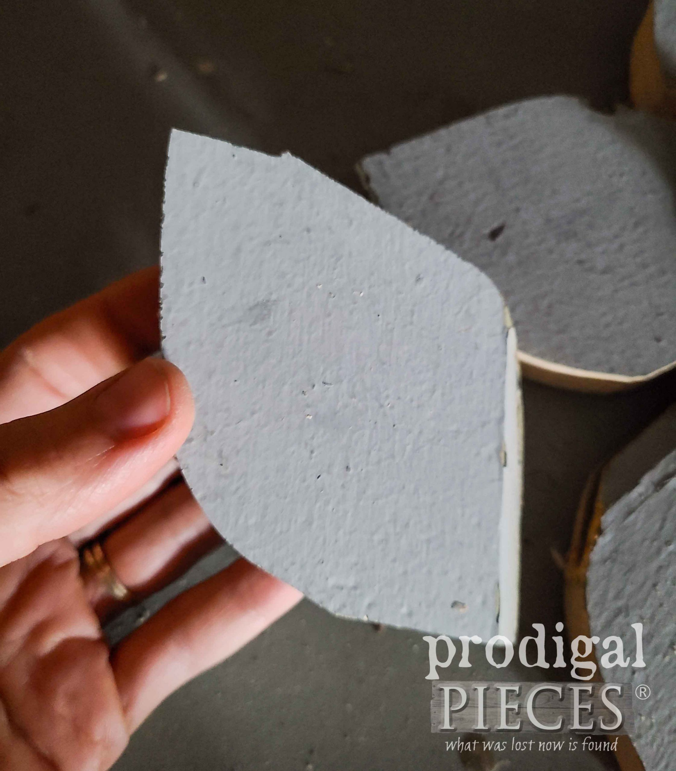 Salvaged Wood Flower Petal | prodigalpieces.com
