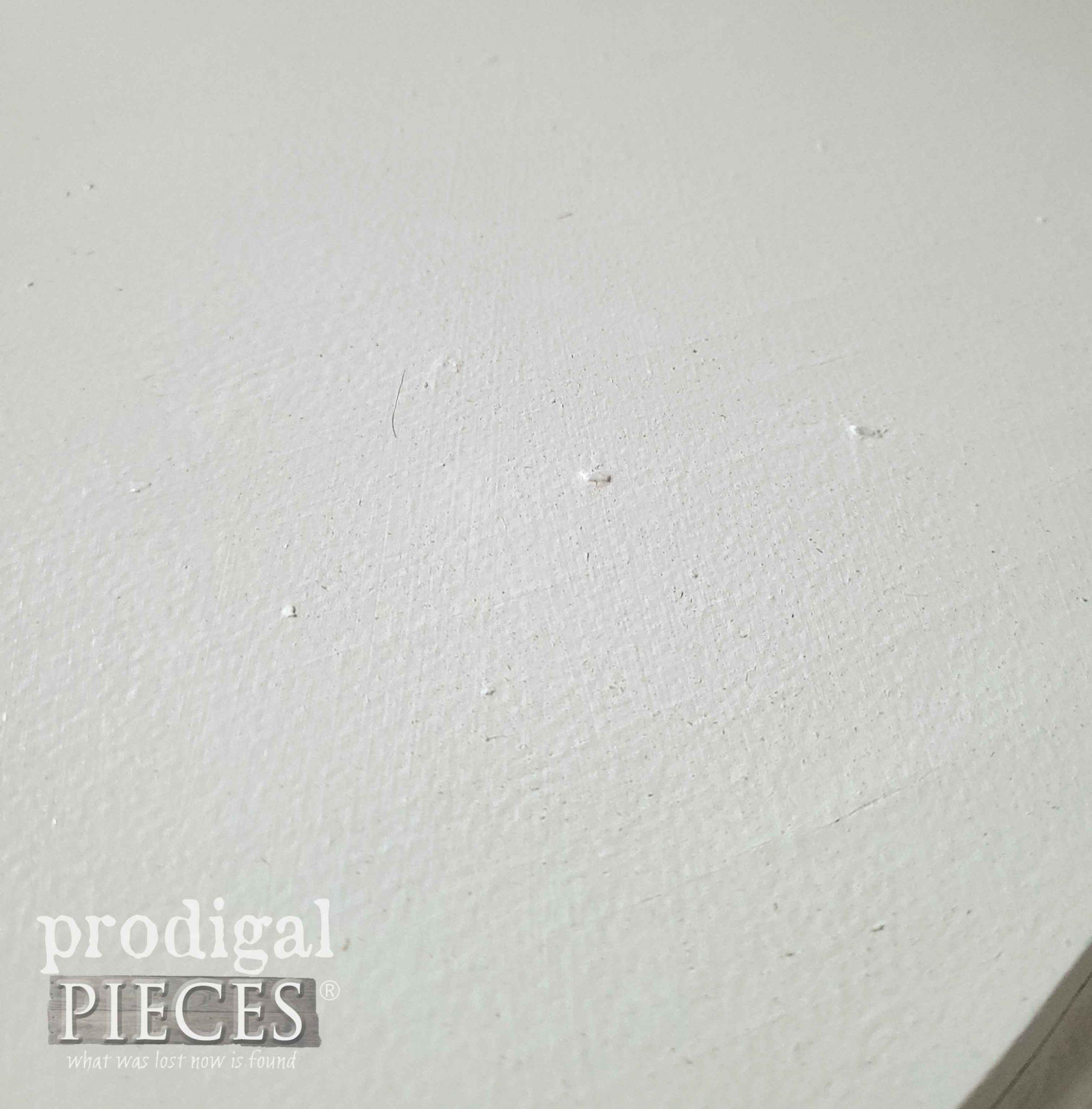 Bad Paint Job on Drum Table | prodigalpieces.com