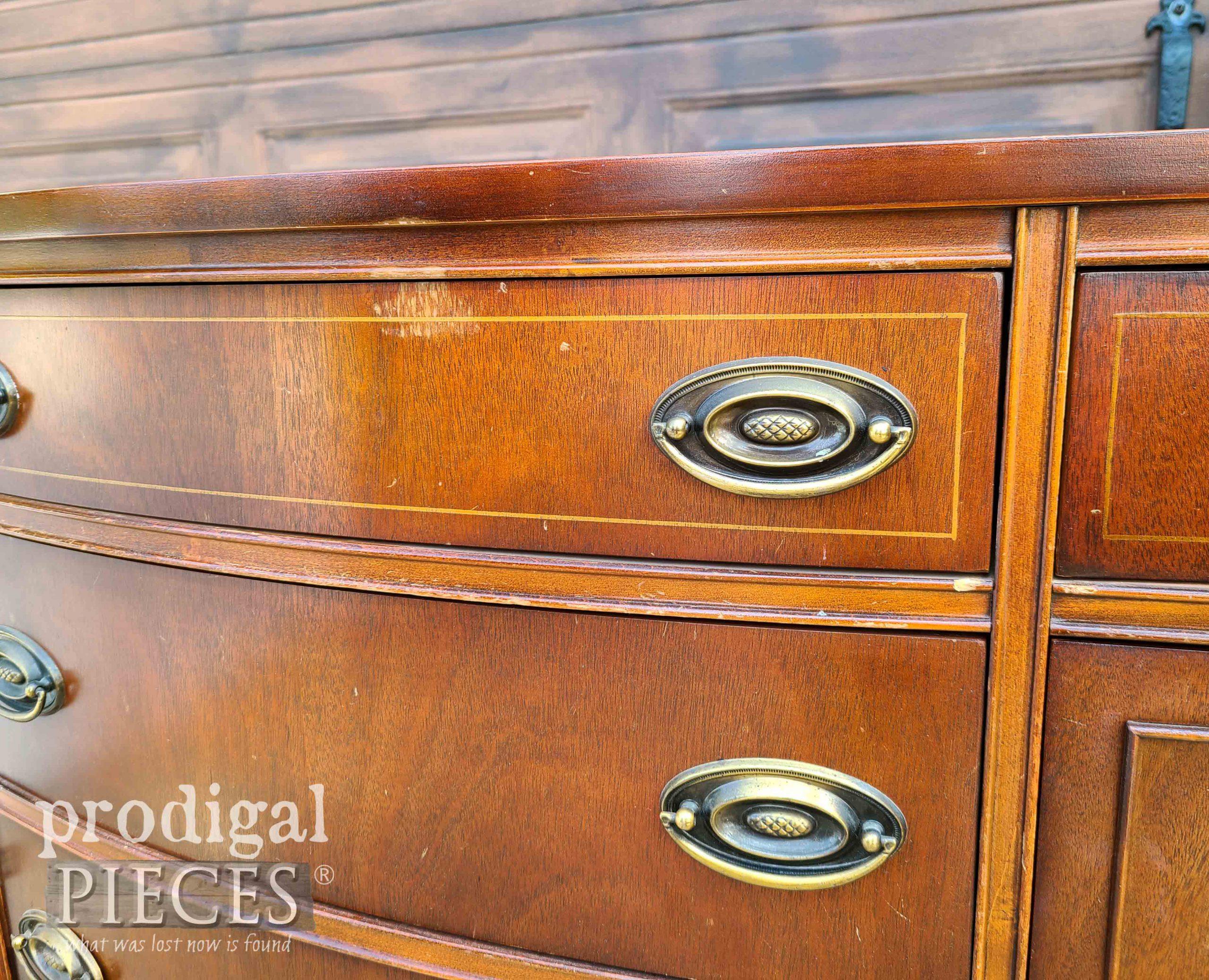 Bassett Buffet Drawer Pulls | prodigalpieces.com