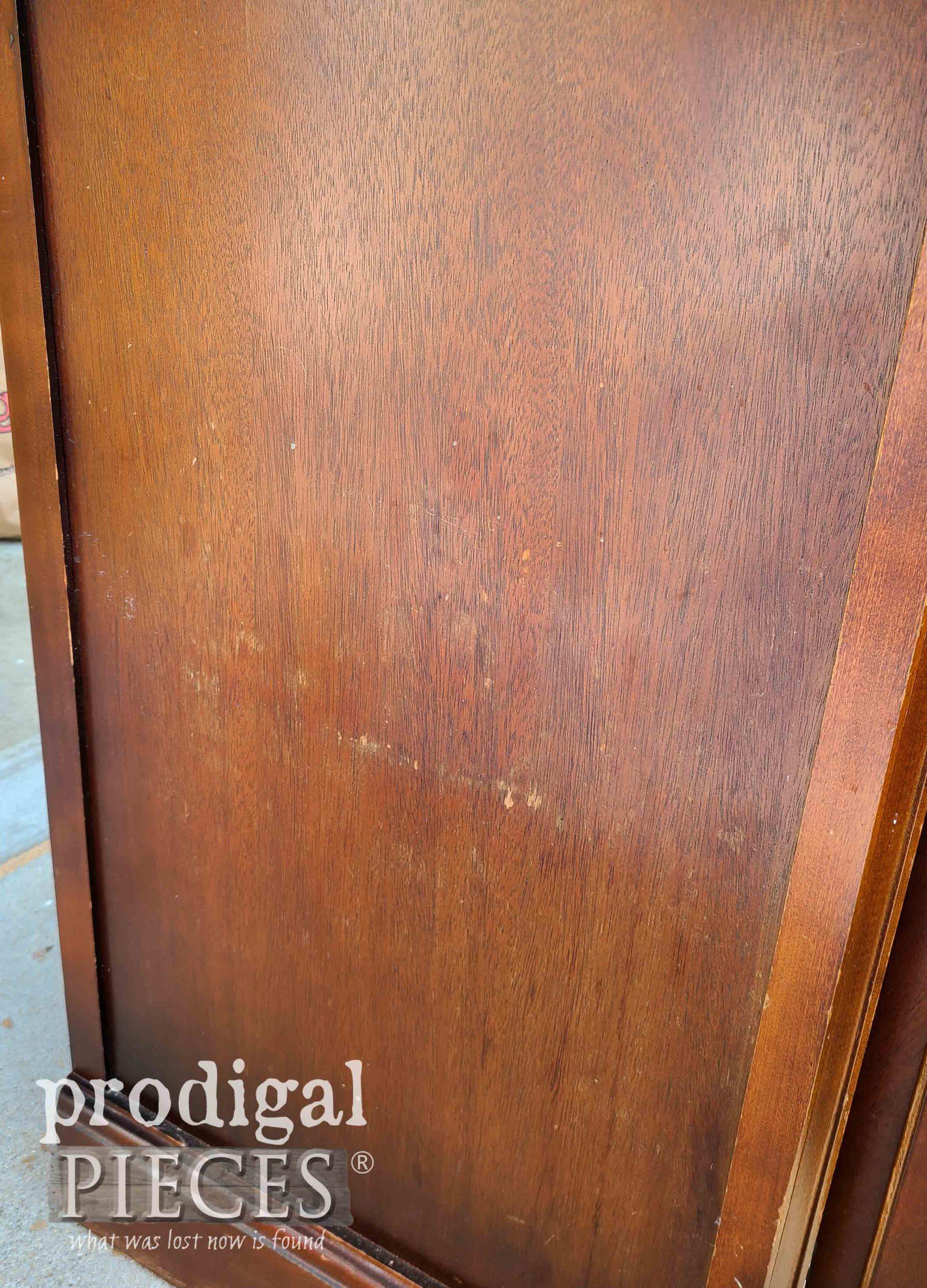 Damaged Vintage Bassett Buffet Side | prodigalpieces.com