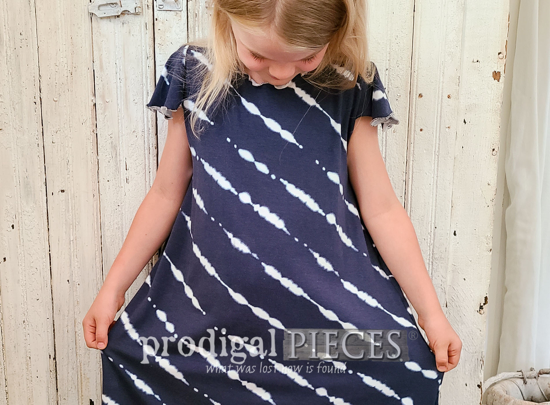 Featured Upcycled Skirt into Nightgowns, Shirts, and Dresses by Larissa of Prodigal Pieces | prodigalpieces.com #prodigalpieces #sewing #fashion #upcycle #refashion #diy #kids #clothing