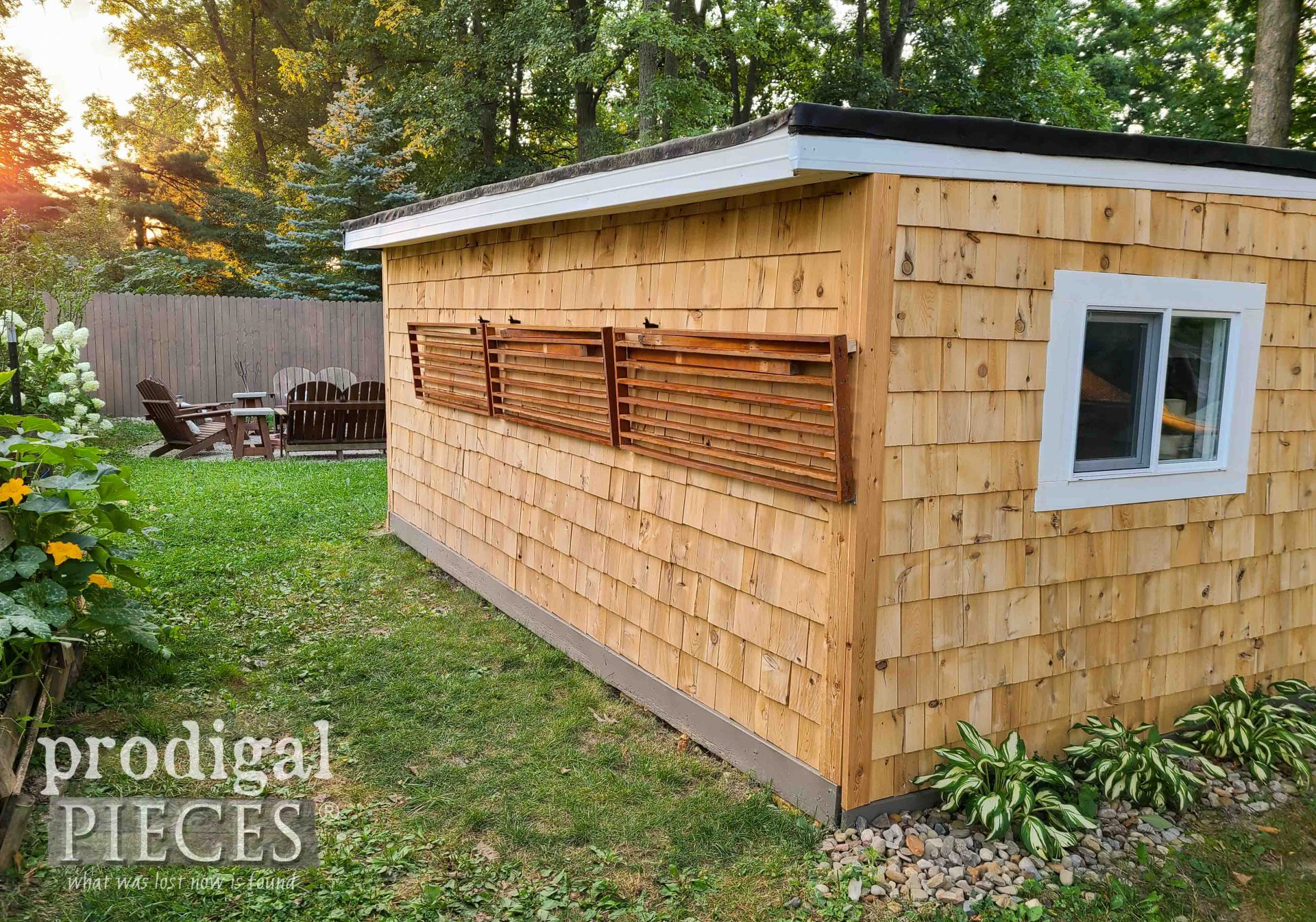 DIY Garden Shed Potting Bench by Larissa of Prodigal Pieces | prodigalpieces.com #prodigalpieces #garden #diy #home
