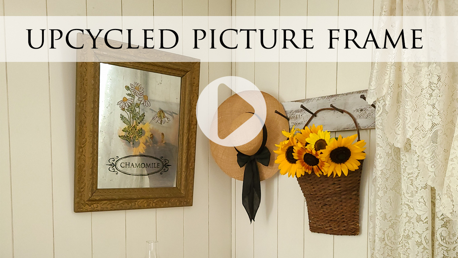 Step-by-Step DIY Tutorial for an Upcycled Picture Frame Art by Larissa of Prodigal Pieces   prodigalpieces.com #prodigalpieces