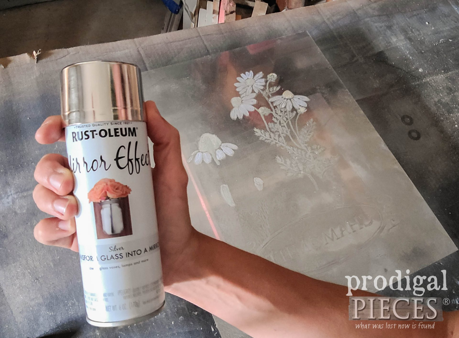 Mirror Effects Spray Paint by Rustoleum | prodigalpieces.com