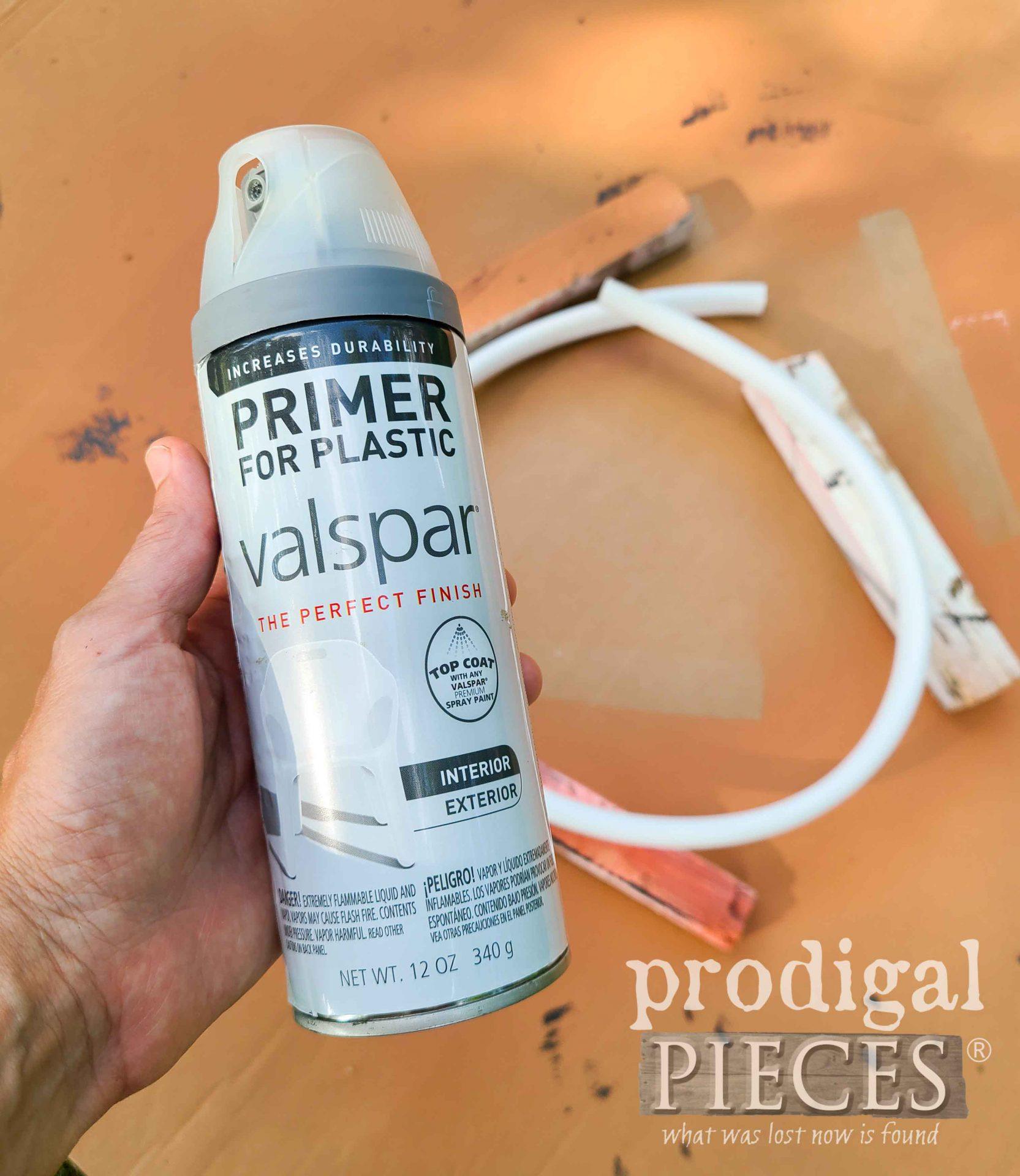 Plastic Primer for Painting | prodigalpieces.com