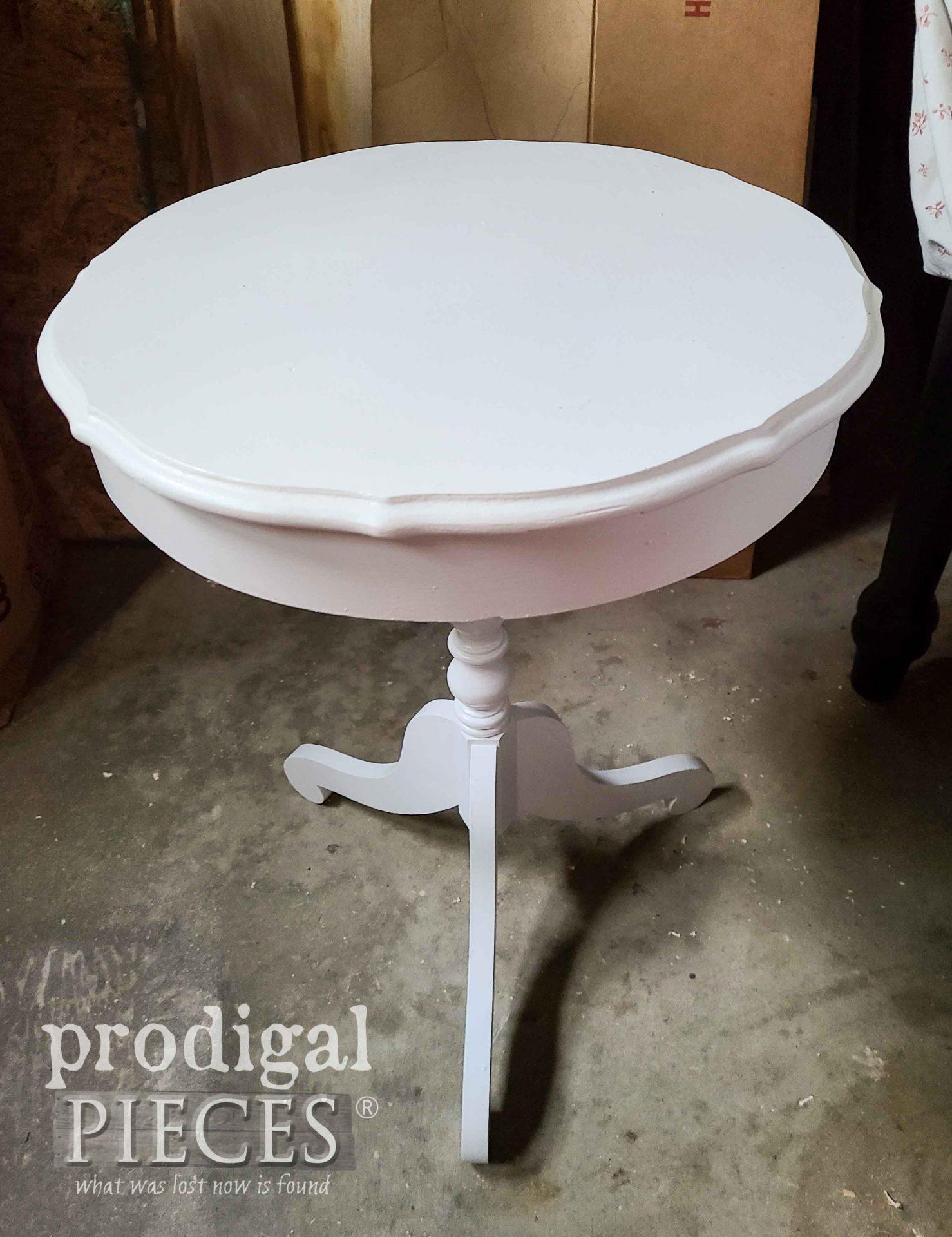 Small Antique Drum Table | prodigalpieces.com