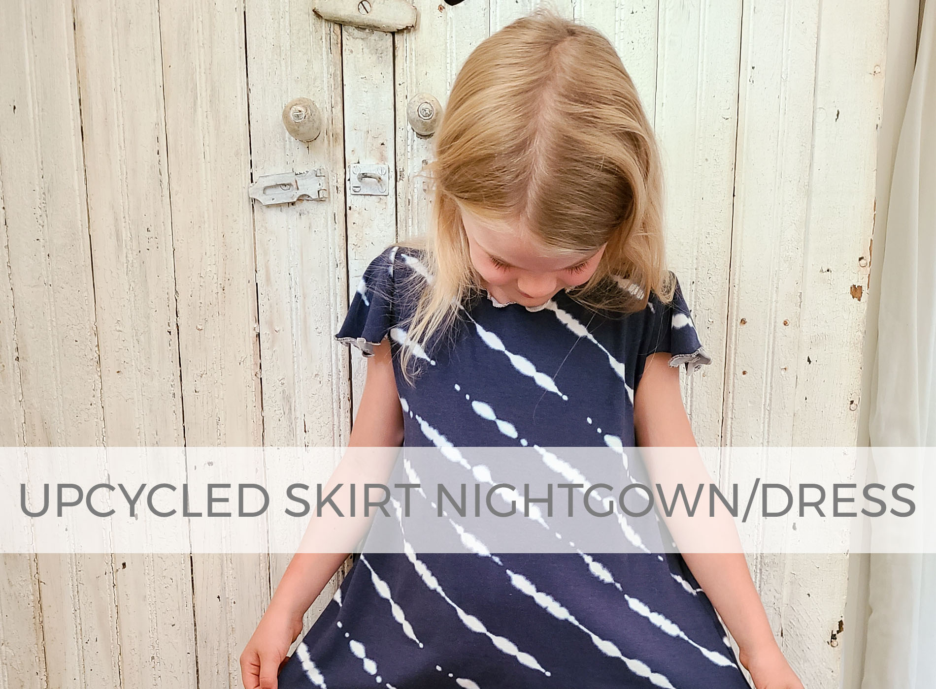 Upcycled Skirt into Nightgown & Clothes by Larissa of Prodigal Pieces | prodigalpieces.com #prodigalpieces #sewing #fashion #refashion #diy #upcycle