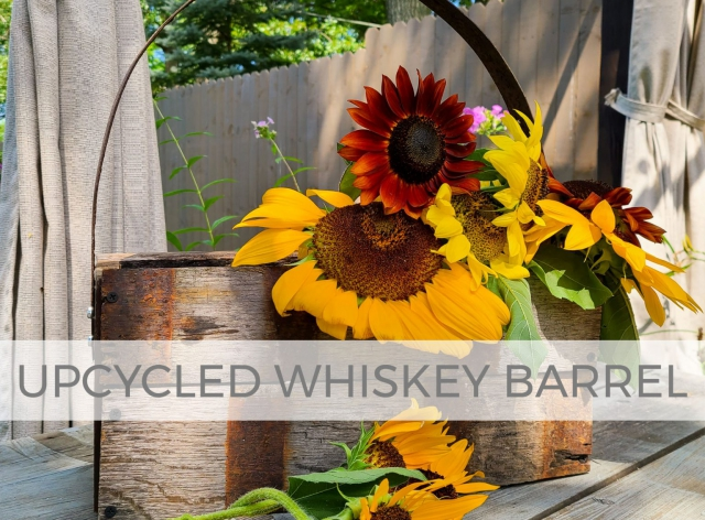 Upcycled Whiskey Barrel Tote by Larissa of Prodigal Pieces | prodigalpieces.com #prodigalpieces