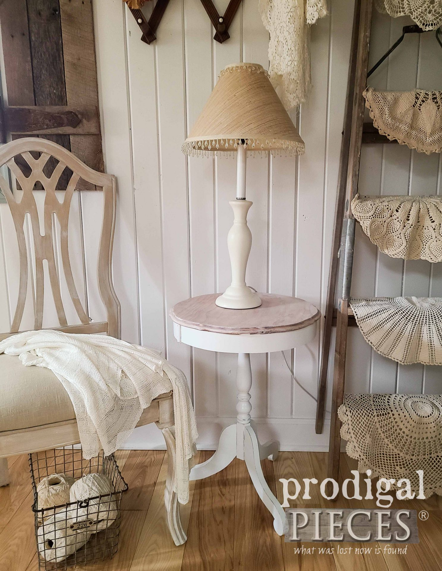 Vintage Farmhouse Decor from Trash and Thrifted Finds by Larissa of Prodigal Pieces | prodigalpieces.com #prodigalpieces #farmhouse #diy #home #homedecor