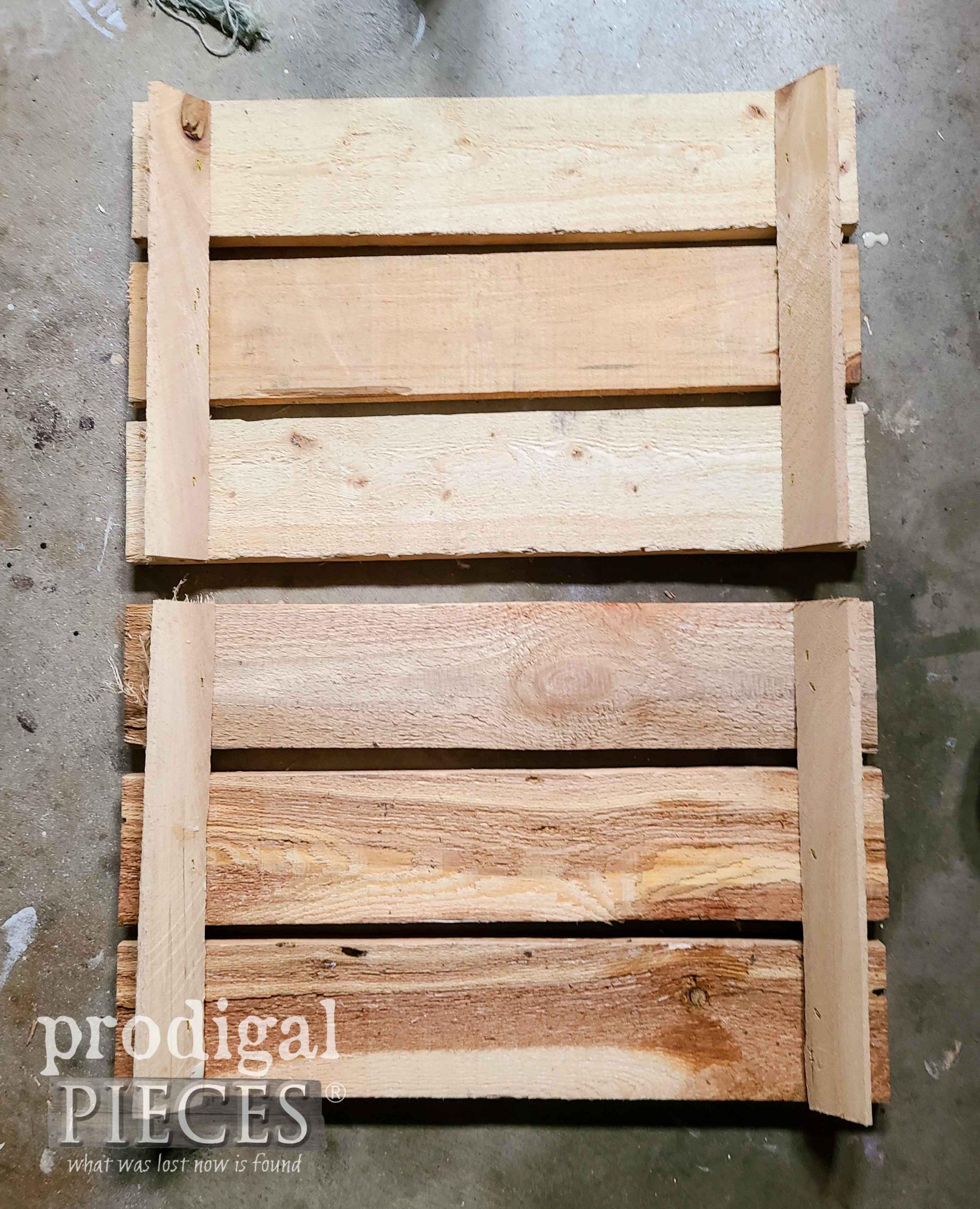 Assembled DIY Crate Sides by Prodigal Pieces | prodigalpieces.com