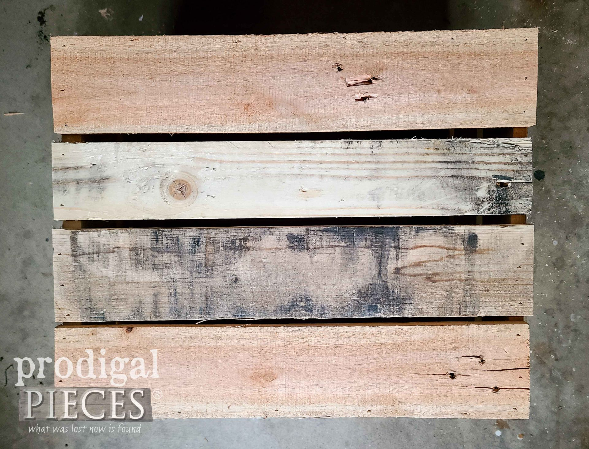 DIY Antique Crate Bottom by Larissa of Prodigal Pieces | prodigalpieces.com