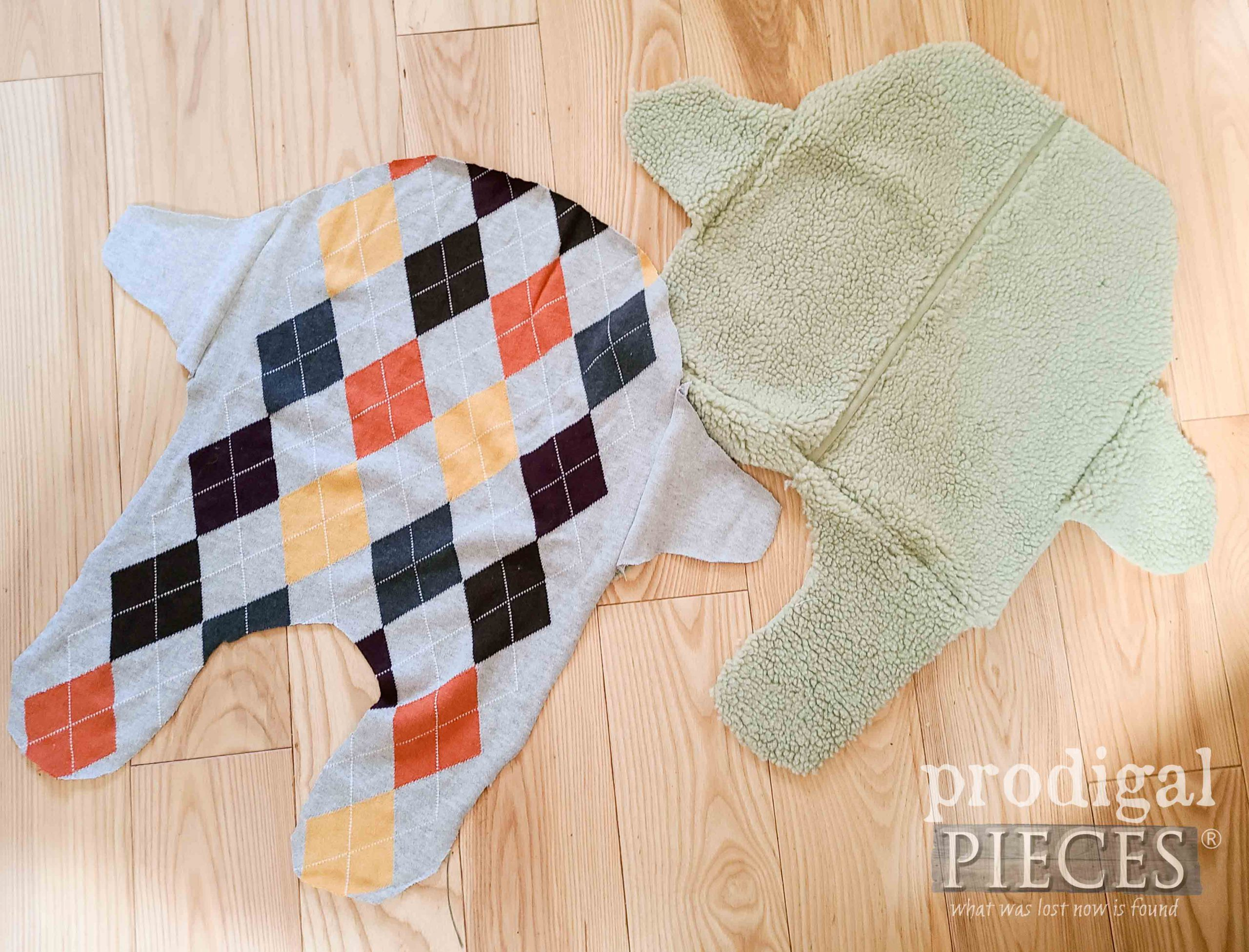 DIY Dog Sweater Layers | prodigalpieces.com #prodigalpieces
