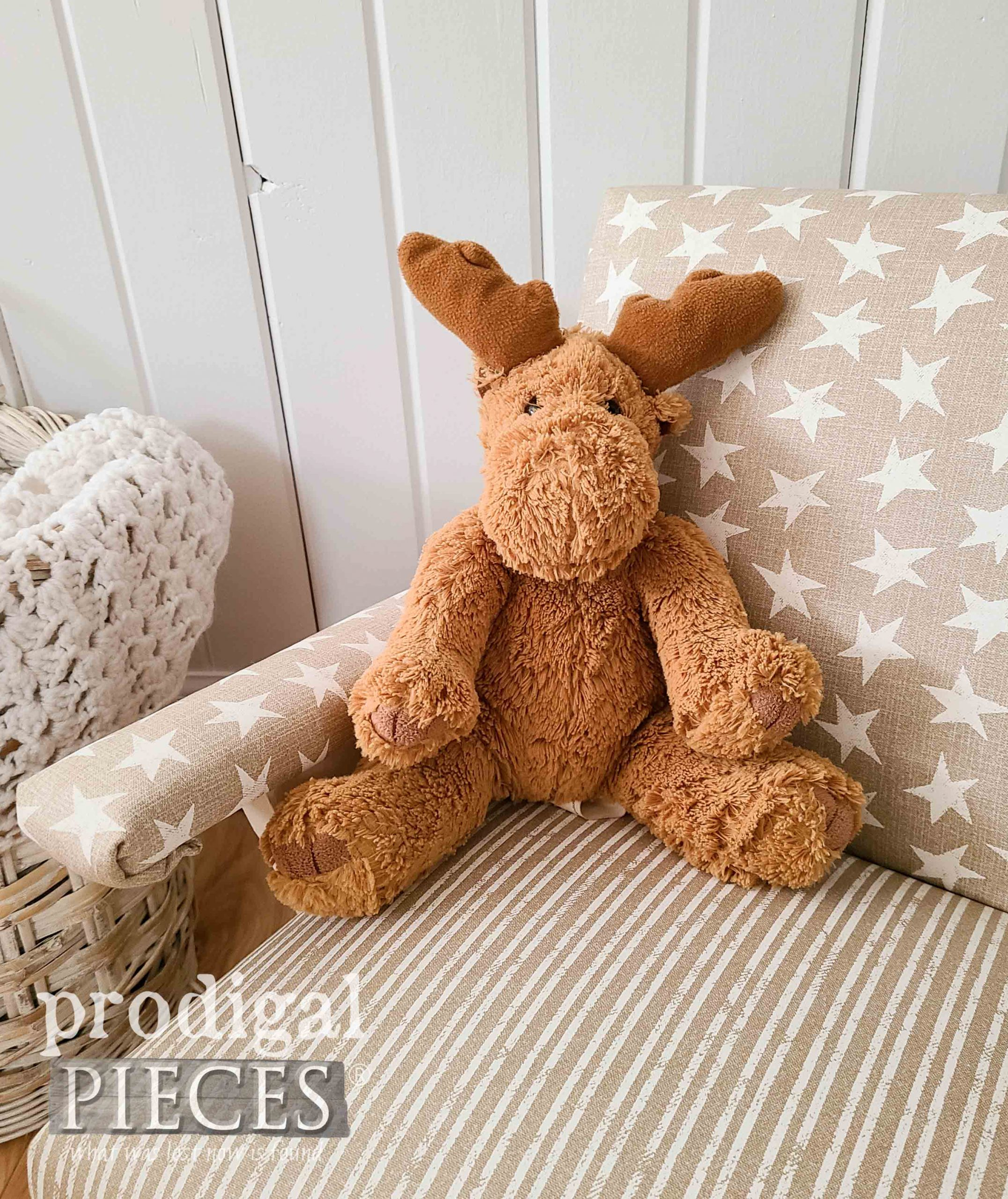 Stuffed Moose Toy by Prodigal Pieces | prodigalpieces.com #prodigalpieces