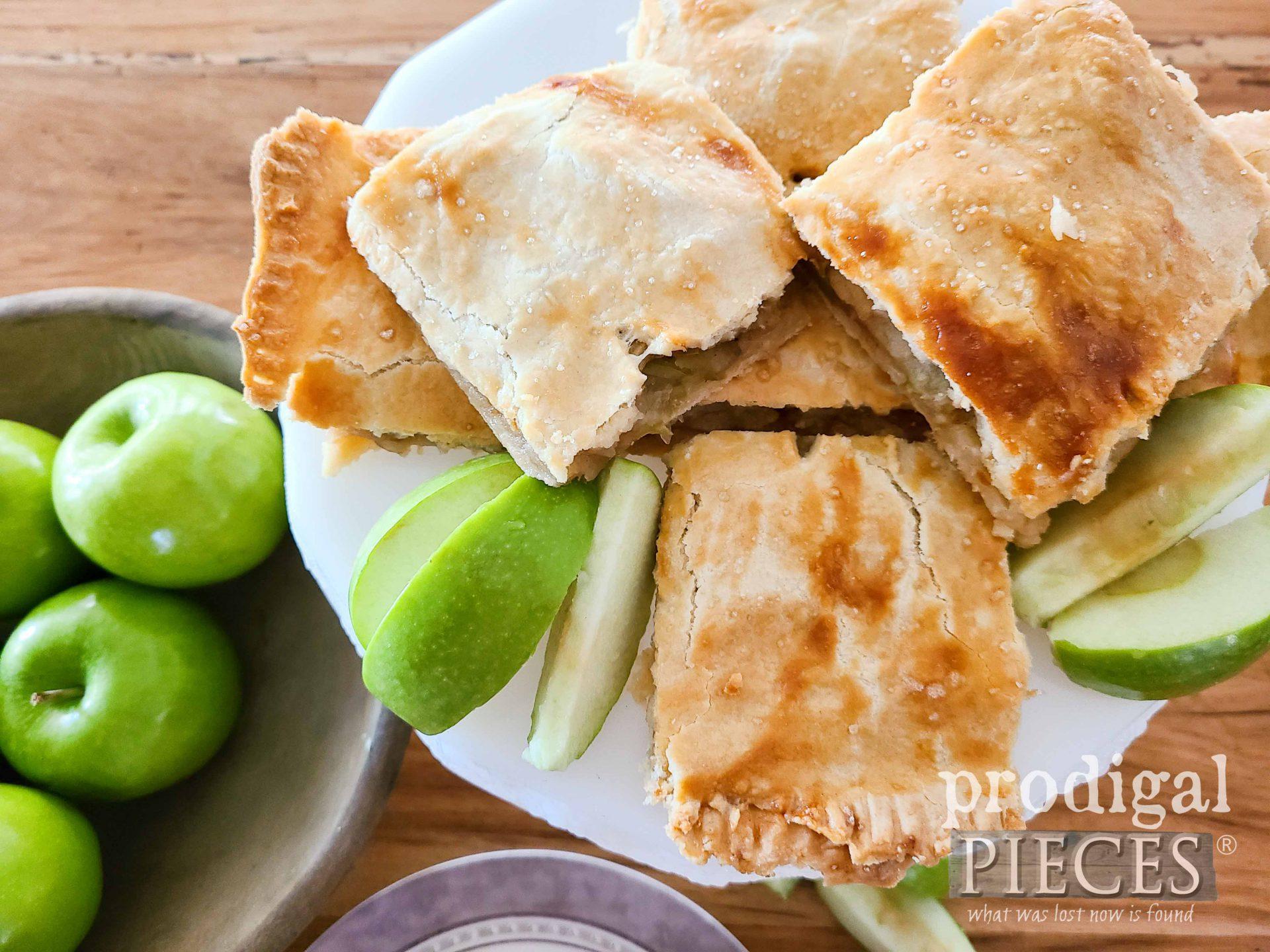 Stacks of Apple Jack Dessert with Recipe by Larissa of Prodigal Pieces   prodigalpieces.com #prodigalpieces #food #recipe #dessert #apple #baking