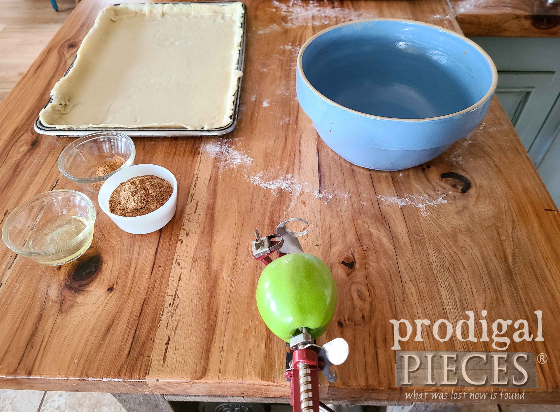 Apple Peeler Corer for Apple Jack Recipe by Larissa of Prodigal Pieces | prodigalpieces.com #prodigalpieces #recipe