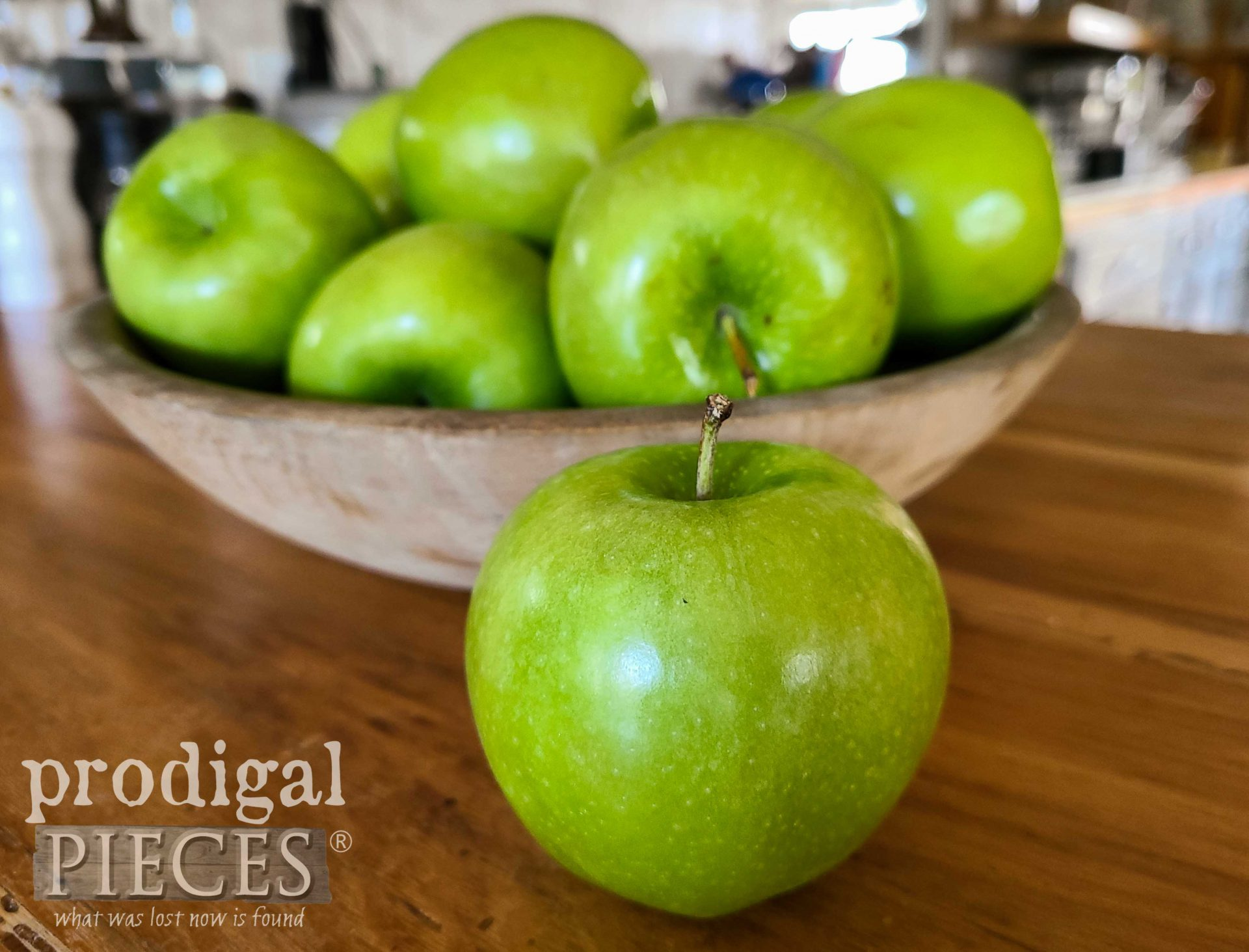 Granny Smith Apples for Apple Jack | prodigalpieces.com