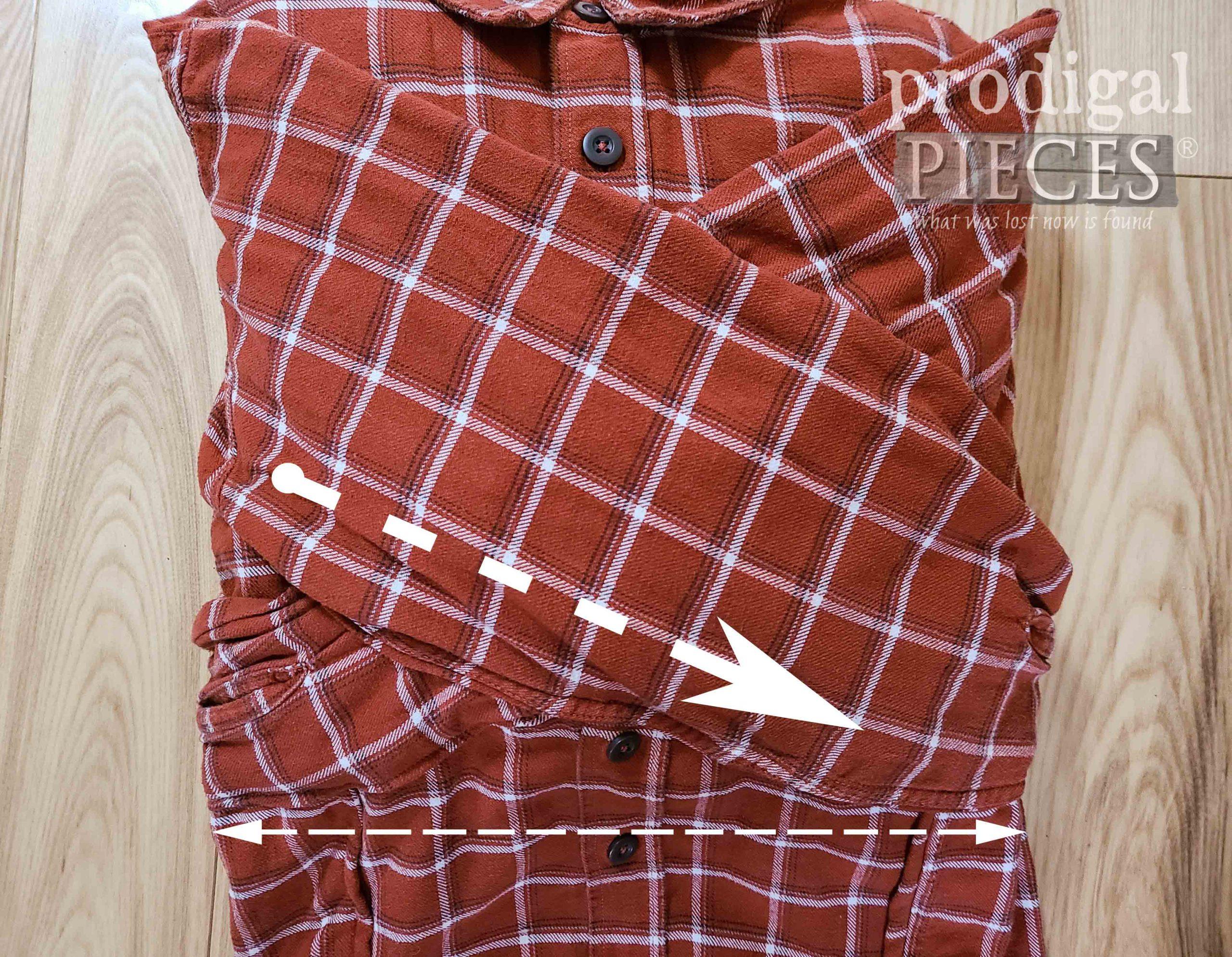 Trimming Pocket Pillow Form | prodigalpieces.com