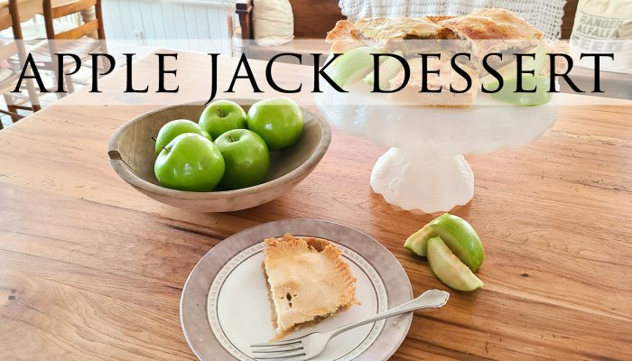 Apple Jack Dessert Recipe