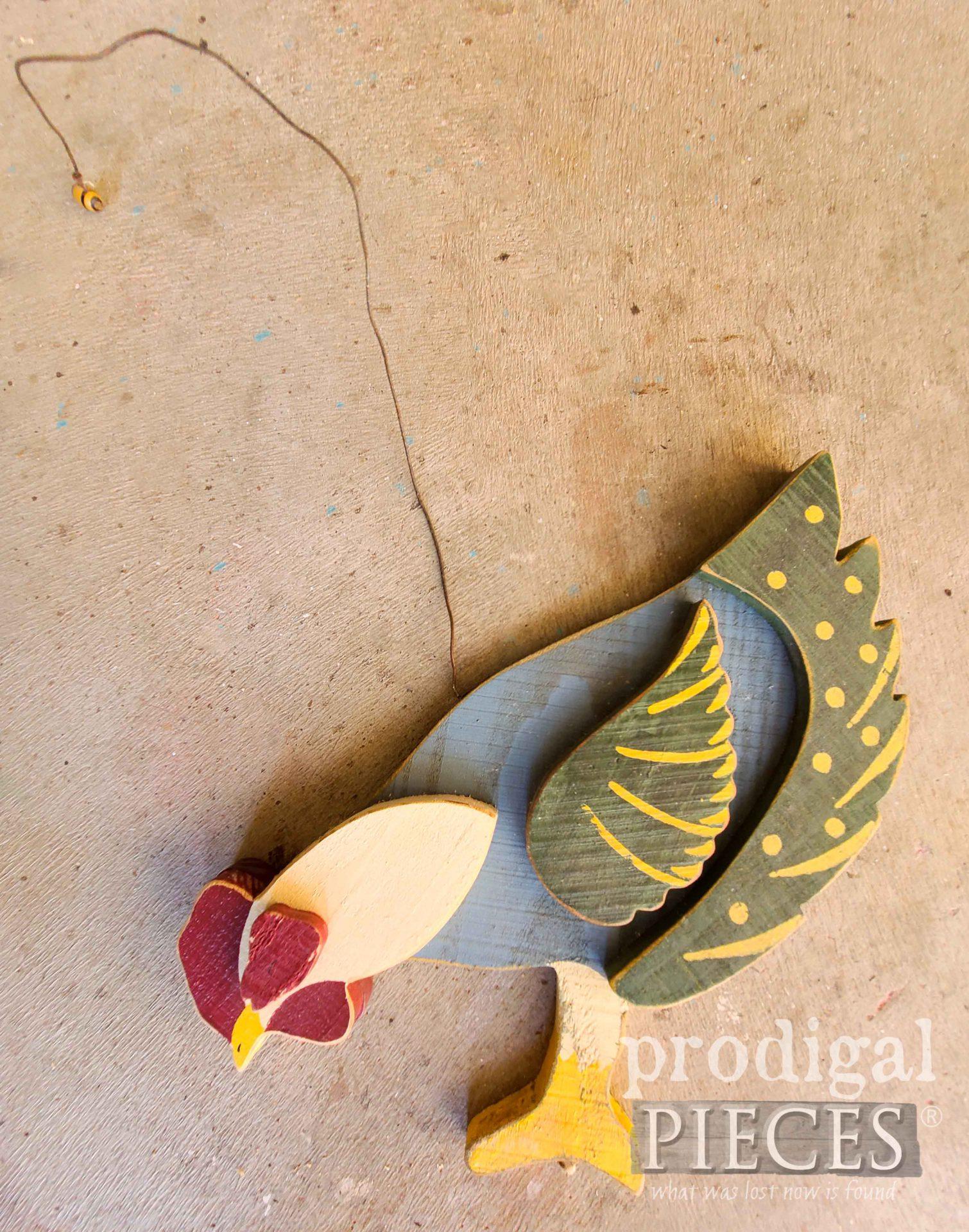 Wooden Chicken Before | prodigalpieces.com